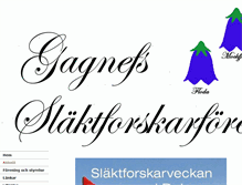 Tablet Preview of gagnefsslaktforskarforening.se